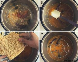 instant pot white urad dal process shot-2