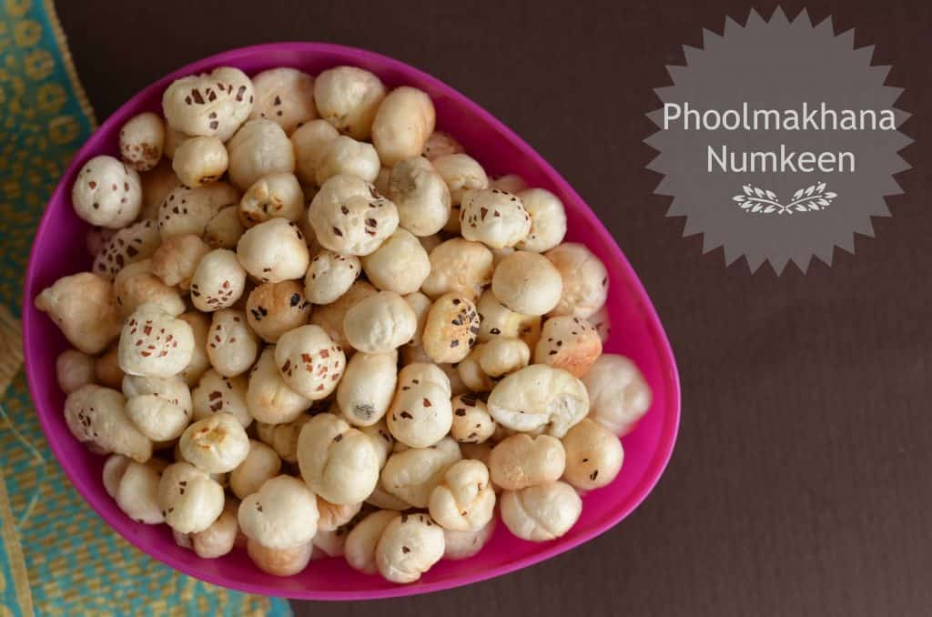 Phool makhana namkeen is a very healthy snack, it is roasted in ghee with salt.It is consumed as a healthy snack but mostly eaten during fasting days especially in Navratri.