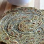 pudina laccha paratha close up click