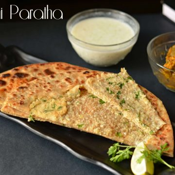 Gobhi Paratha or cauliflower stuffed flatbread is one of the famous breakfasts in North India. Filled with the goodness of cauliflower, this aromatic paratha is served in breakfast especially in winter season.