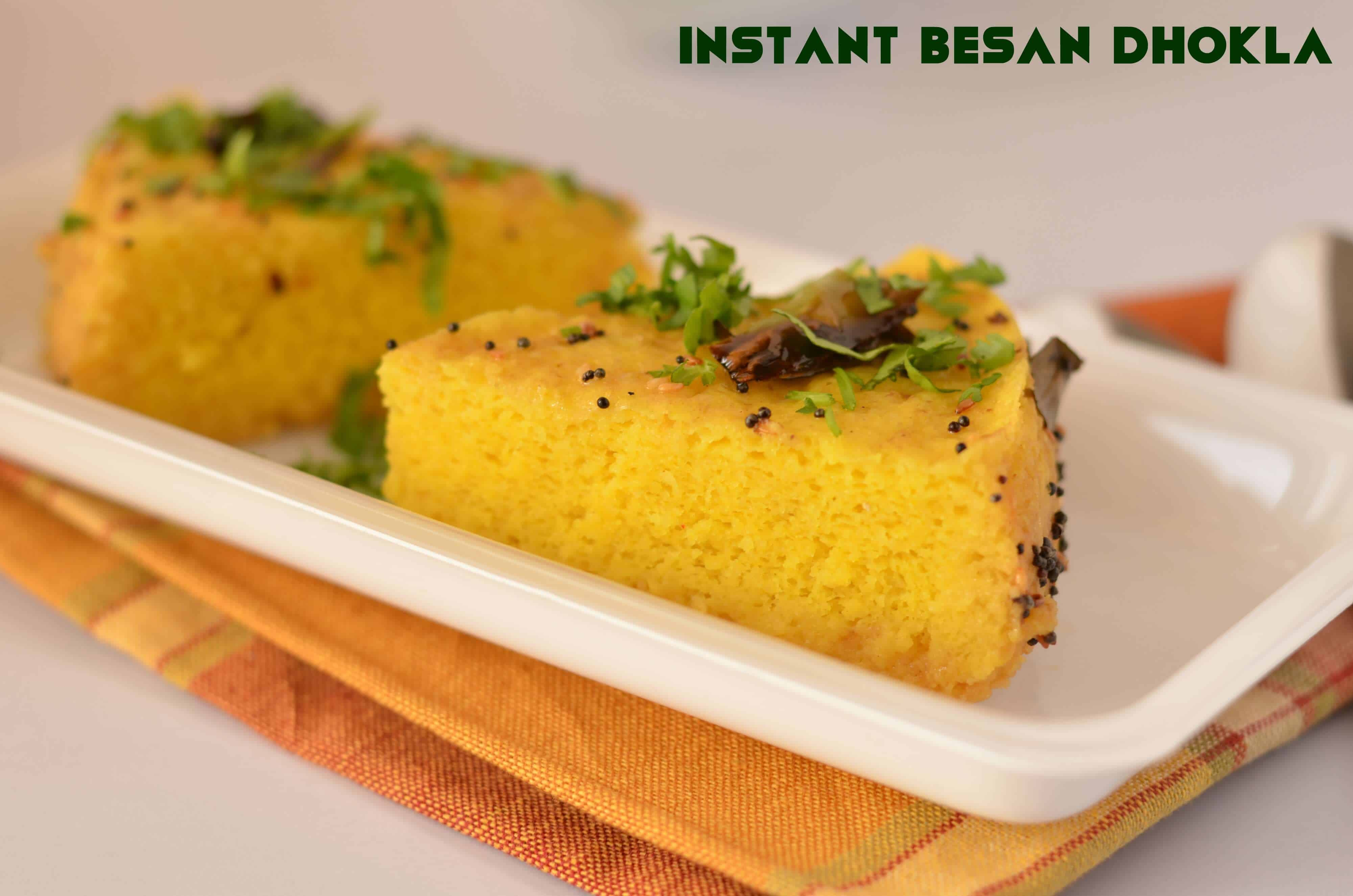 Instant Besan Dhokla