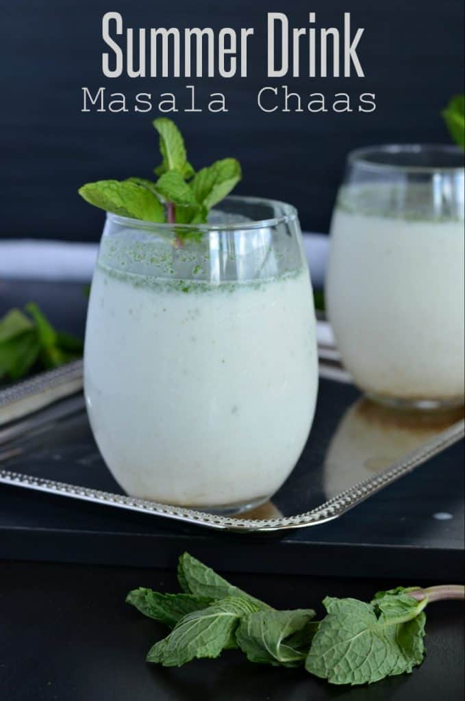 Masala chaas or buttermilk is an Indian summer drink prepared with curd, water, few spices, and herbs. This does not only help in digestion but also keeps you hydrated and cool in summer. Masala chaas or buttermilk is considered to be a great summer cooler.