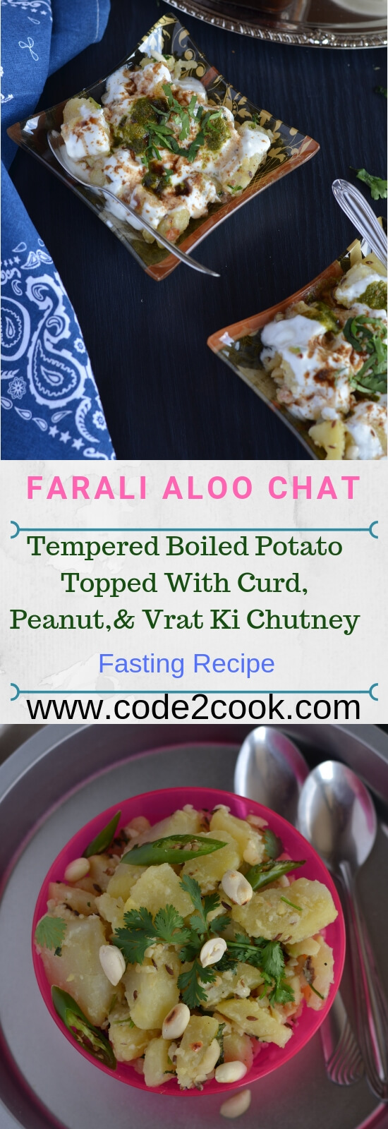 Vrat ke aloo or vrat wale aloo are prepared very often during fasting/vrat, especially in Navratri fasting days. This is a no onion no garlic recipe yet lip-smacking food. This vrat wale aloo or vrat ke jeera aloo can be served on other fasts as well like Ekadashi, Mahashivratri, Janmashtami.