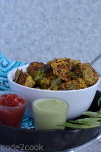 Bajra muthia is a popular Gujarati savory steamed snack, tempered with curry leaves, mustard seeds, and cumin seeds. A perfect evening snack or a breakfast dish. Bajra muthia is very light and super healthy low calories snack to consume.
