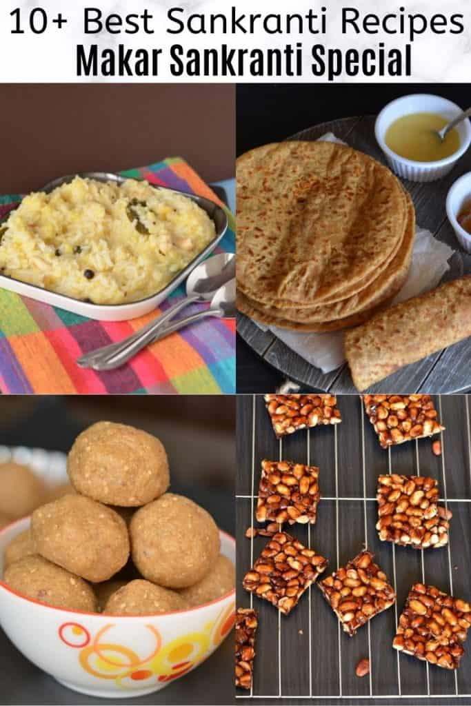 Best Makar Sankranti Recipes Collage