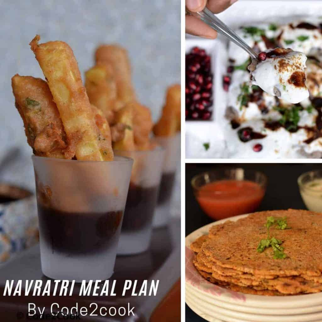 Navratri Meal Plan Image