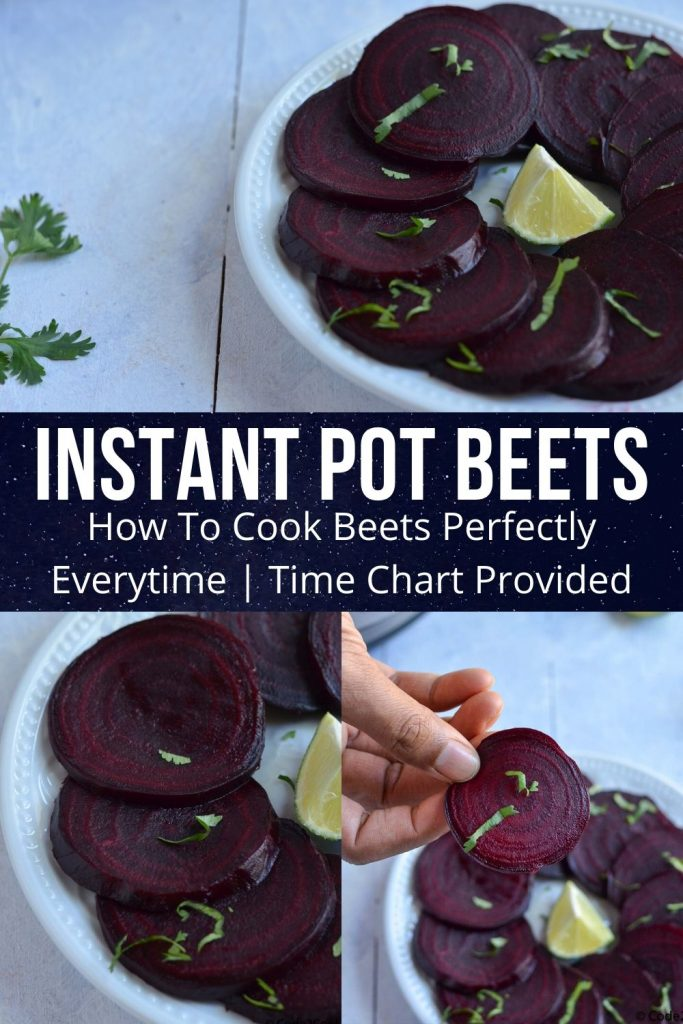 pinterest image for instant pot beets