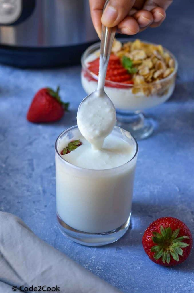smooth & creamy instant pot yogurt